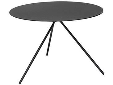 Lourens Fisher Mom Table dappoint Noir, en métal