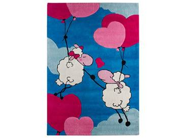 andiamo 704470 Tapis Lovely Sheep 100 x 160 cm Bleu