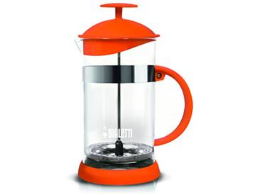 Bialetti 0006185 Cafetière Piston Plastique Orange 16x11,5x22,5 cm