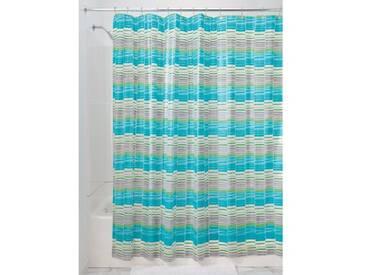InterDesign 31393EU Rideau de Douche Wicket EVA Aqua/Vert/Gris 180 x 200 cm
