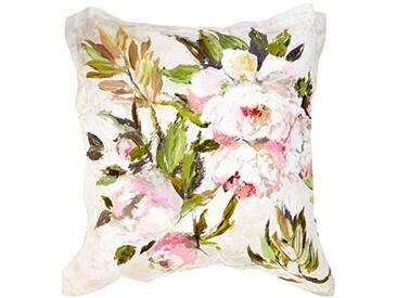 Designers Guild - Floreale Taie doreiller Satin de Coton Naturel 50 x 75 cm