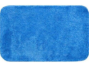 Grund Tapis de Bain 32mm, 100% Polyacrylique, Ultra Soft, antidérapant, certifié teх certifié, Garantie 5Ans, Lex, Lex - Jeansblau, 80x140 cm