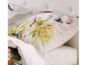 Designers Guild Couture Taie doreiller Satin de coton Rose 70 x 50 cm
