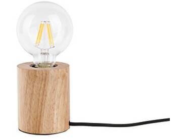 Leitmotiv LM1572 Lampe de Table Bois, 40 W, Naturel