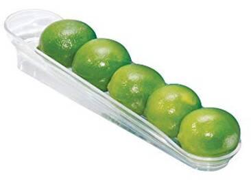 InterDesign 72130EU Chute Jr. Plateau à Fruits Plastique Transparent