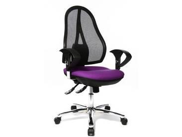 Topstar OP290UG03 Open Point SY Deluxe Chaise de Bureau Violet 48 x 48 x 111 cm