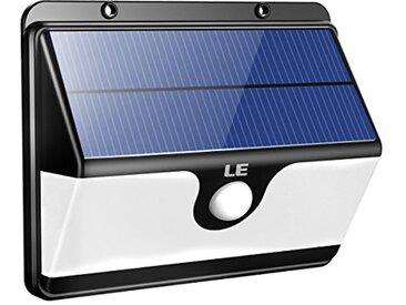Le Lampe solaire avec détecteur de mouvement blanc froid Applique extérieure 30 LED à énergie solaire 2 modes d'éclairage
