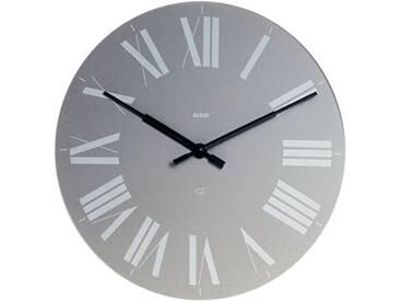 Alessi 12 G Firenze Horloge Murale en Abs, Gris, Mouvement Au Quartz