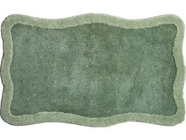Grund Tapis de Bain 100% polyacrylique - Ultra Soft - Antidérapant - Aux Normes OekoTex, Tutti - Grün, 60 x 100 cm