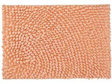 Kleine Wolke Textilgesellschaft 4090414519 Tapis de Bain, Combinaison, Saumon, 1,01 x 90 x 4 cm