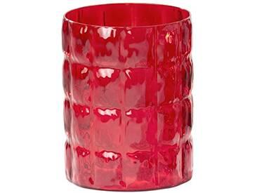 Kartell MATELASSE Vase, rouge