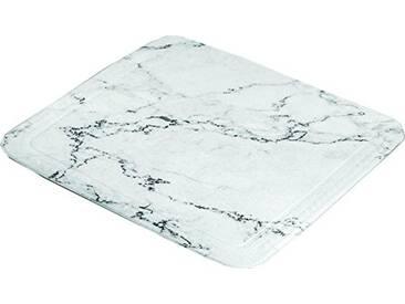 Kleine Wolke 4102901002 Marble Tapis de douche Coton Anthracite 55 x 55 x 2 cm