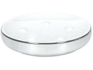 Kleine Wolke 5075127853 Noblesse Porte-Savon Porcelaine Blanc/Argent 40 x 30 x 10 cm