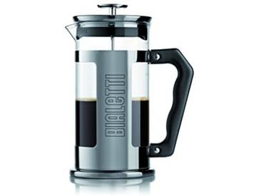 Bialetti - 3210 - French Press - Cafetière Italienne à Piston en Inox - 12 Tasses