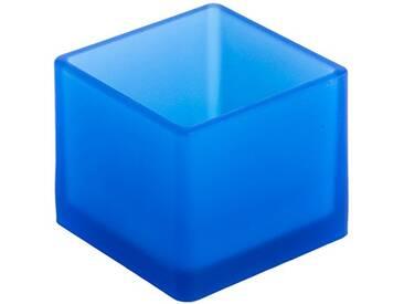 Geelli GFU-CUB-007 Fusto Cubo, Polyurethane, Blue, 10x10x8 cm