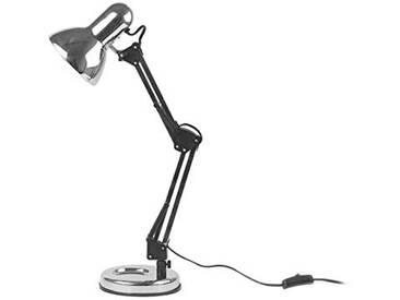 Leitmotiv LM674 Lampe Lumière de Table Éclairage, Acier, Chrome, 25 W