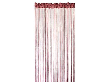 Home Fashion 85100-856 Rideau Fil Bordeaux Rouge 245 x 150 cm