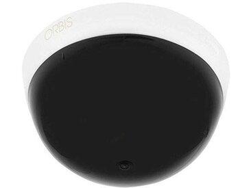 Détecteur de mouvement pour couvrir les plafonds de Construction, dans l'aspect d'une caméra de surveillance IP20, angle de détection 360°