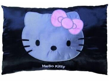 CTI 040882 Coussin Imprimé Hello Kitty Rosa 28 x 42 cm Noir Satin