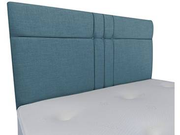 Interiors 2Combinaison U Brooke Parure de lit capitonnée, Tissu, Bleu Canard, 7.5x 76x 62cm