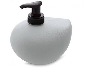 koziol distributeur de savon liq. 450 ml Grace Sense, thermoplastique, gris froid, 10,5 x 12,7 x 11,7 cm