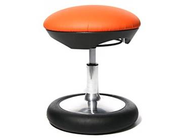 Topstar SC79S01 Sitness Kid 20 Tabouret Fitness pour Enfant Housse Orange Orange