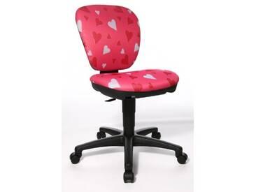 Topstar 616343 Chaise de bureau pour enfants Kiddi Star Herzchen Testée par LGA