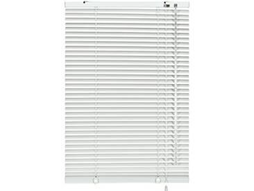 GARDINIA Store Vénitien en Aluminium, Fixation au Mur et au Plafond, Kit de Montage Inclus, Store Vénitien Aluminium, Blanc, 120 x 240 cm (LxH)