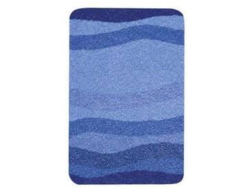Kleine Wolke 5510791427 Miami Tapis de Bain Polyacrylique Bleu 65 x 115 cm