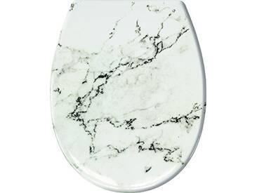 Kleine Wolke 1843901075Marble Abattant Duroplast, Anthracite, 37x 45x 5cm
