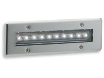 First Light Suspension à LED 1,3W/10x LED IP68de mur et Escabeau en acier inoxydable avec LED de, Blanc