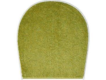 Grund Tapis de bain 100% polyacrylique - Ultra soft - Antidérapant - Aux normes OekoTex, Orly - Grün, 47x50 cm