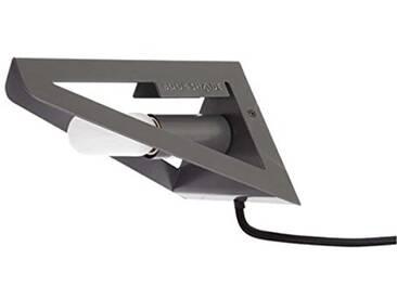 Leitmotiv LM810 Bookshade Applique Gris 12 x 13 x 18 cm