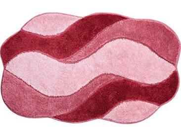 Grund Tapis de Bain, 100% polyacrylique, Ultra Doux, antidérapant, certifié Öko-Teх, Carmen, Fibres synthétiques, Carmen - rosé, 80x140 cm