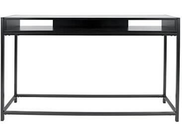 Leitmotiv Fushion Console Acier, Noir, Taille Unique