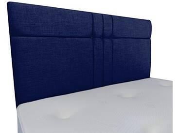 Interiors 2Combinaison U Brooke Parure de lit capitonnée, Tissu, Bleu Nuit, 7.5x 76x 62cm