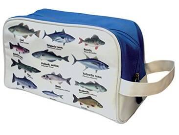 Gift Republic 14057 Fischers Trousse de toilette Motif poissons