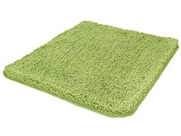 Kleine Wolke Textilgesellschaft 4035615539 Trend Tapis de Bain Vert 75 x 55 x 0,35 cm