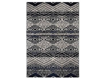 andiamo 721611Vintage Tapis Poils Courts Puerto, 160x 230cm, crème, Bleu/Gris, 120 x 170 cm