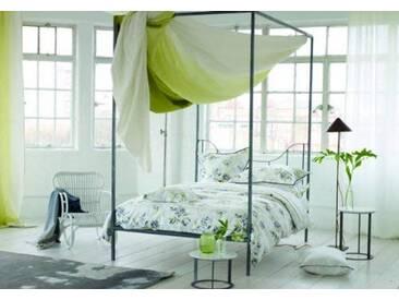 Designers Guild - Freya Drap Plat Satin de Coton Gris 270 x 300 cm