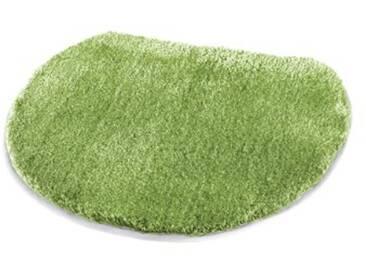 Kleine Wolke Tapis pour abattant WC Soft 47x50 cm en Vert, Polyacrylique, 20x20x5 cm