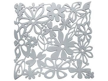 Koziol elément décoratif Alice, thermoplastique, Anthracite Transparent, 0,3 x 27 x 27 cm