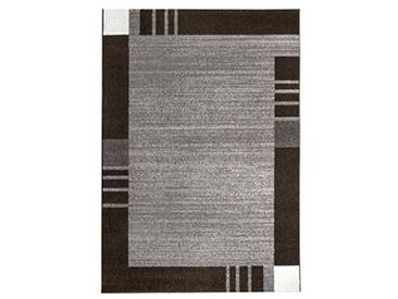 andiamo Frise grasse Web Tapis de Couloir, Polypropylène, Gris, 60 x 110 cm