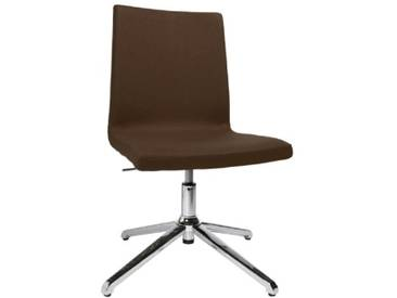 Topstar SEA190L59 Sitness Cube Chaise de Bureau avec Patins Marron 46 x 51 x 95 cm