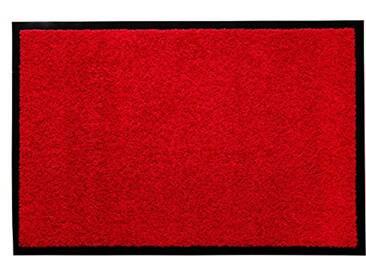 andiamo 700625Paillasson/Tapis de Porte, uni, Rot, 80x120cm