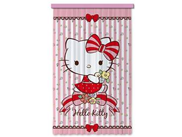AG Design Hello Kitty Flowers Chambre denfant Rideau Occultant Regroupez-Les, Multicolore, 140 x 245 cm