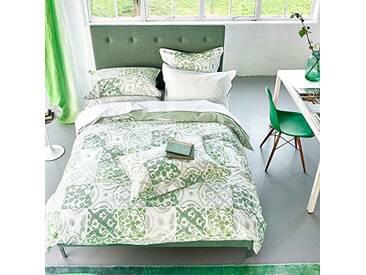 Designers Guild Pesaro Housse de Couette, Coton, Emerald, 260x240 cm