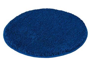 Kleine Wolke 5405736521 Tapis de bain Relax 100 cm Rond d Bleu Atlantique