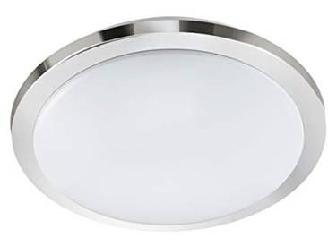 Eglo Competa 1-ST Plafonnier en acier Blanc 20 W