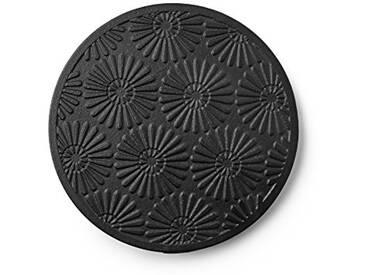 IBILI 621030 Support Théière Bali, Porcelain, Noir, 15 x 2 x 15 cm